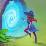 Charms of the Witch: Magic Mystery Match 3 Games 2.45.0 (Mod Unlimited diamonds)