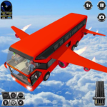 Flying Bus Driving simulator 2019: Free Bus Games 3.2 (MOD, Unlimited Money)