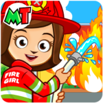 My Town : Fireman & Fire Station KIDS Game 1.30 (MOD, Unlimited Money)