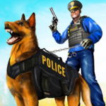 Police Dog Airport Crime Chase : Dog Games  4.1 (MOD, Unlimited Money)