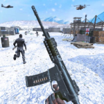 Action shooting games : Commando Game s 6.0 (Mod Unlimited Captain's Pay)
