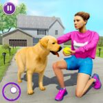 Family Pet Dog Home Adventure Game 1.2.7 (MOD, Unlimited Money)