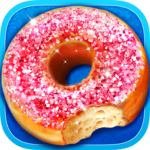 Glitter Donut – Trendy & Sparkly Food 1.3 (MOD, Unlimited Money)