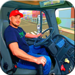 In Truck Driving: Euro new Truck 2020 2.5 (MOD, Unlimited Money)