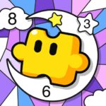 Jigsaw Coloring: Number Coloring Art Puzzle Game 2.5.0 (MOD, Unlimited Money)