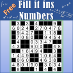 Number Fill in puzzles – Numerix, numeric puzzles 6.9 (MOD, Unlimited Money)