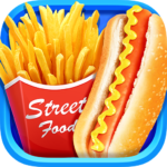 Street Food  – Make Hot Dog & French Fries 1.7 (MOD, Unlimited Money)