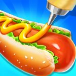 Street Food Stand Cooking Game for Girls 1.5 (MOD, Unlimited Money)