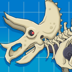Triceratops Dinosaur Fossil Robot Age 2.6 (MOD, Unlimited Money)