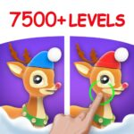 Differences in Eyes, Find & Spot all Differences 2.1.0 (MOD, Remove Ads)