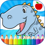 Dinosaurs Coloring Book 15 (MOD, Unlimited Money)