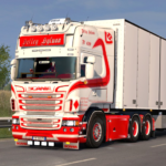 Euro Truck Driving Simulator 3D – Free Game 0.1 (MOD, Unlimited Money)