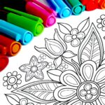 Mandala Coloring Pages 16.5.8 (Mod Unlimited Features)