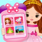 Pink Little Talking Princess Baby Phone Kids Game 9.0.2OD, Unlimited Money)