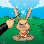 Whack a Bunny – Tap Tap Hole Puzzle 🐰 1.0.1.6 (MOD, Unlimited Money)