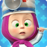 Masha and the Bear: Free Animal Games for Kids 4.0.8 (Mod Unlimited superdoctors)
