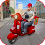 Moto Bike Pizza Delivery Games 2021: Food Cooking 1.12 (MOD, Unlimited Money)