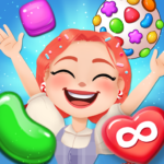 Candy Go Round – #1 Free Candy Puzzle Match 3 Game 1.10.0 (MOD, Unlimited Money)