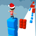 Cube Stacker Surfer 3D – Run Free Cube Jumper Game 1.45  (MOD, Unlimited Money)