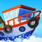 Fish idle: hooked tycoon. Your own fishing boat 4.0.0 (MOD, Unlimited Money)