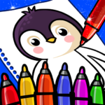 Happy Coloring Book Learn Paint : Coloring Games 0.13 (MOD, Unlimited Money)