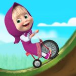 Masha and the Bear: Climb Racing and Car Games 1.2.7 (MOD, Unlimited Money)