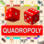Quadropoly Best AI Board Business Trading Game 1.78.87  (MOD, Unlimited Money)