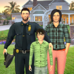 Virtual Police Family Game 2020 -New Virtual Games 1.3 (MOD, Unlimited Money)