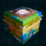 CraftBlock HD: Building 3D Crafting Game  (MOD, Unlimited Money)1.12
