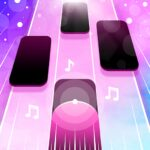 Magic Pink Tiles: Piano Game  1.0.20 (MOD, Unlimited Money)
