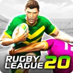 Rugby League 20  (MOD, Unlimited Money)1.2.3.75