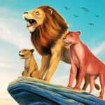 The Lion Simulator: Animal Family Game  (MOD, Unlimited Money)1.0