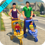 Virtual Twins mom: Mother Simulator Family life 4 (MOD, Unlimited Money)