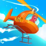 Dinosaur Helicopter – Games for kids  (MOD, Unlimited Money)1.0.6