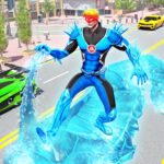 Flying Police Robot Snow Storm Hero: Crime City  (MOD, Unlimited Money)11.0.0