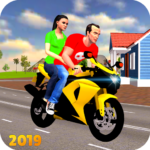 Offroad Bike Taxi Driver: Motorcycle Cab Rider  (MOD, Unlimited Money)3.2.16