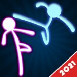 Stickman Fighting: 2 Player Funny Physics Games  (MOD, Unlimited Money)1.9