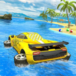 Water Surfer car Floating Beach Drive  (MOD, Unlimited Money)1.19