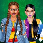 College Student Girl Dress Up 1.0.8 (MOD, Unlimited Money)