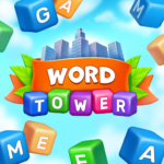 Word Tower – Free Offline Word Game  1.1.22 (MOD, Unlimited Money)