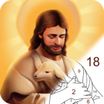 Bible Color – Paint by Number, Free Bible Games 1.0.7 (MOD, Unlimited Money)