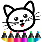Bini Drawing for Kids! Learning Games for Toddlers  (MOD, Unlimited Money)
