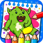 Fantasy – Coloring Book & Games for Kids 1.23 (MOD, Unlimited Money)