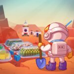 Idle Mars Colony: Clicker farmer tycoon 0.7.0 (MOD, Unlimited crystals)