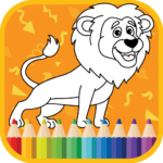 Kids Coloring Book : Cute Animals Coloring Pages  (MOD, Unlimited Money)