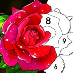 Color by Number: Oil Painting Coloring Book 1.901 (Mod Unlimited Premium)