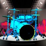 Drum Hero (rock music game, tiles style)  (MOD, Unlimited Money) v2.4.8