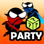 Jumping Ninja Party 2 Player Games 4.1.3 (Mod Remove Ads)