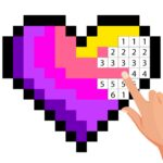 Pixel Art Color by number – Coloring Book Games 2.5 (MOD, Unlimited Money)