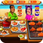 Seafood Cooking Chef: Addictive Free Cooking Games 1.6 (Mod Unlimited Gems)